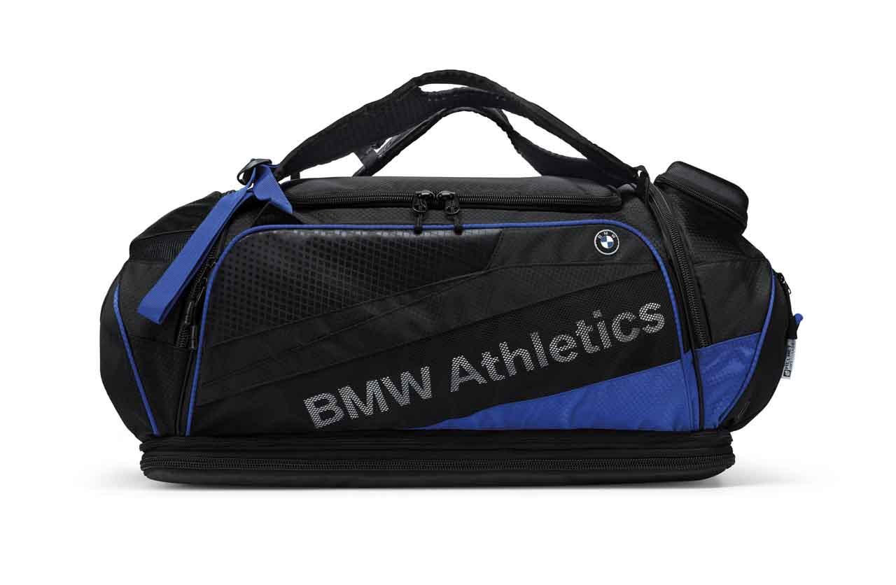 bmw athletics performance sporttasche bmw boomers online. Black Bedroom Furniture Sets. Home Design Ideas