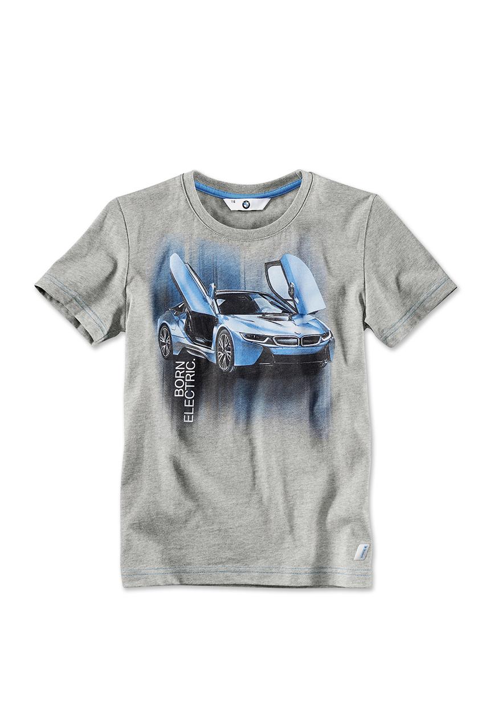 Bmw i t shirt i8 druck kinder bmw boomers online shop for Bmw t shirt online