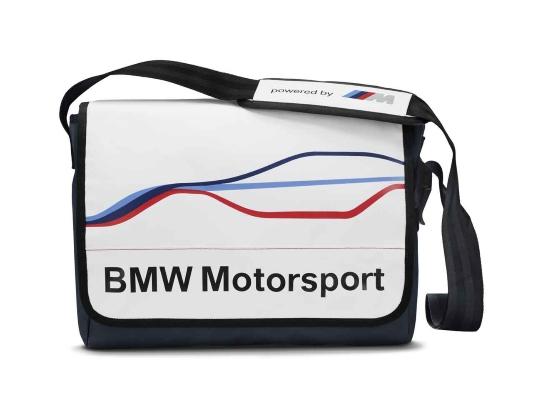bmw motorsport messenger tasche bmw boomers online shop. Black Bedroom Furniture Sets. Home Design Ideas