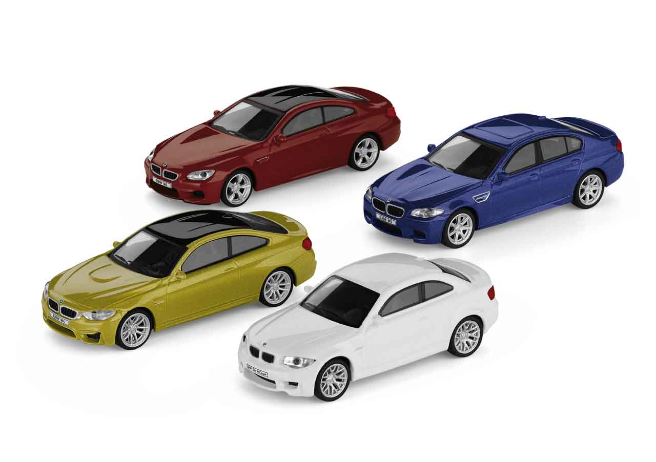 bmw m car collection miniaturen set bmw boomers online shop. Black Bedroom Furniture Sets. Home Design Ideas