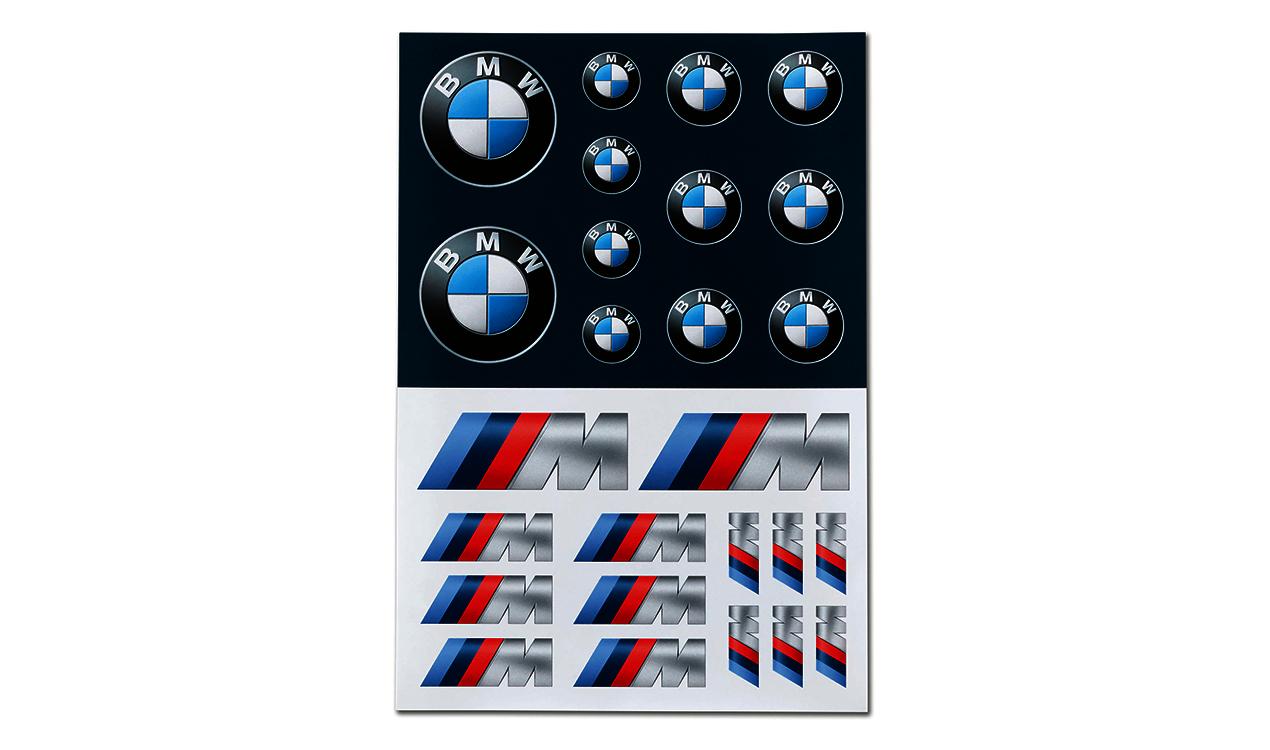 BMW Aufkleber Set