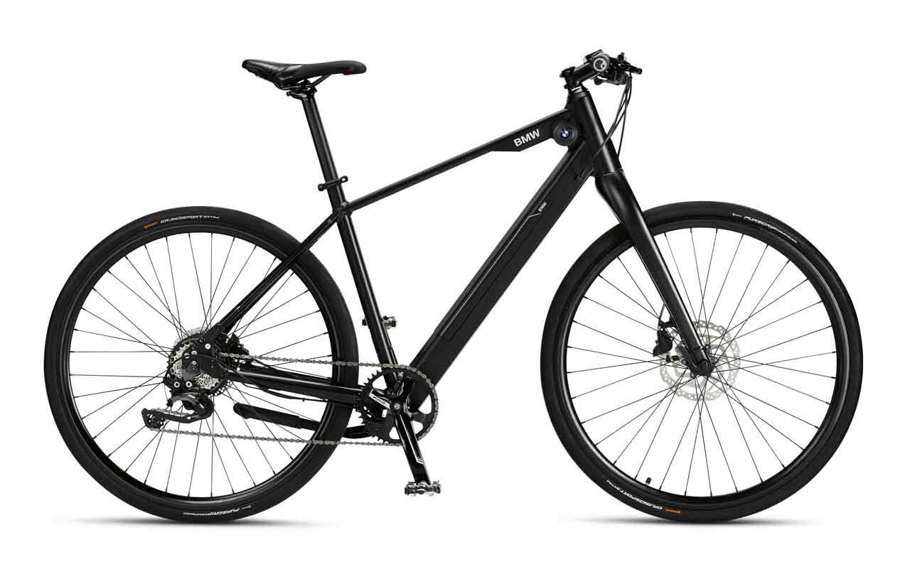 BMW Urban Hybrid E-Bike matt schwarz