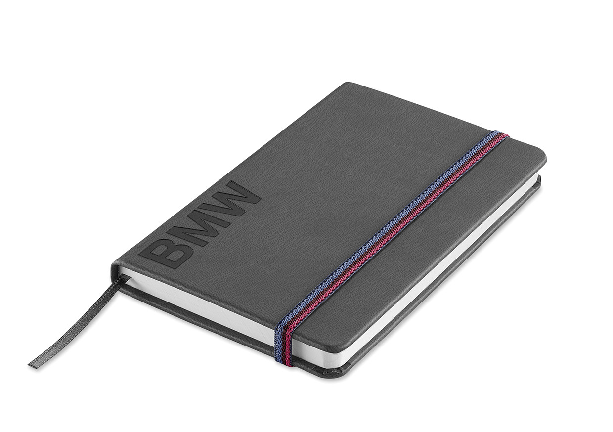 BMW Notizbuch Wortmarke