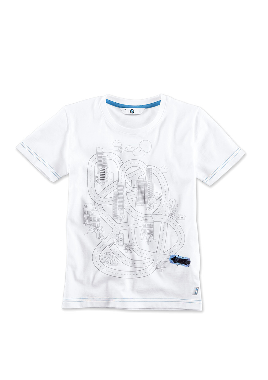 BMW i T-Shirt interactive, Kinder