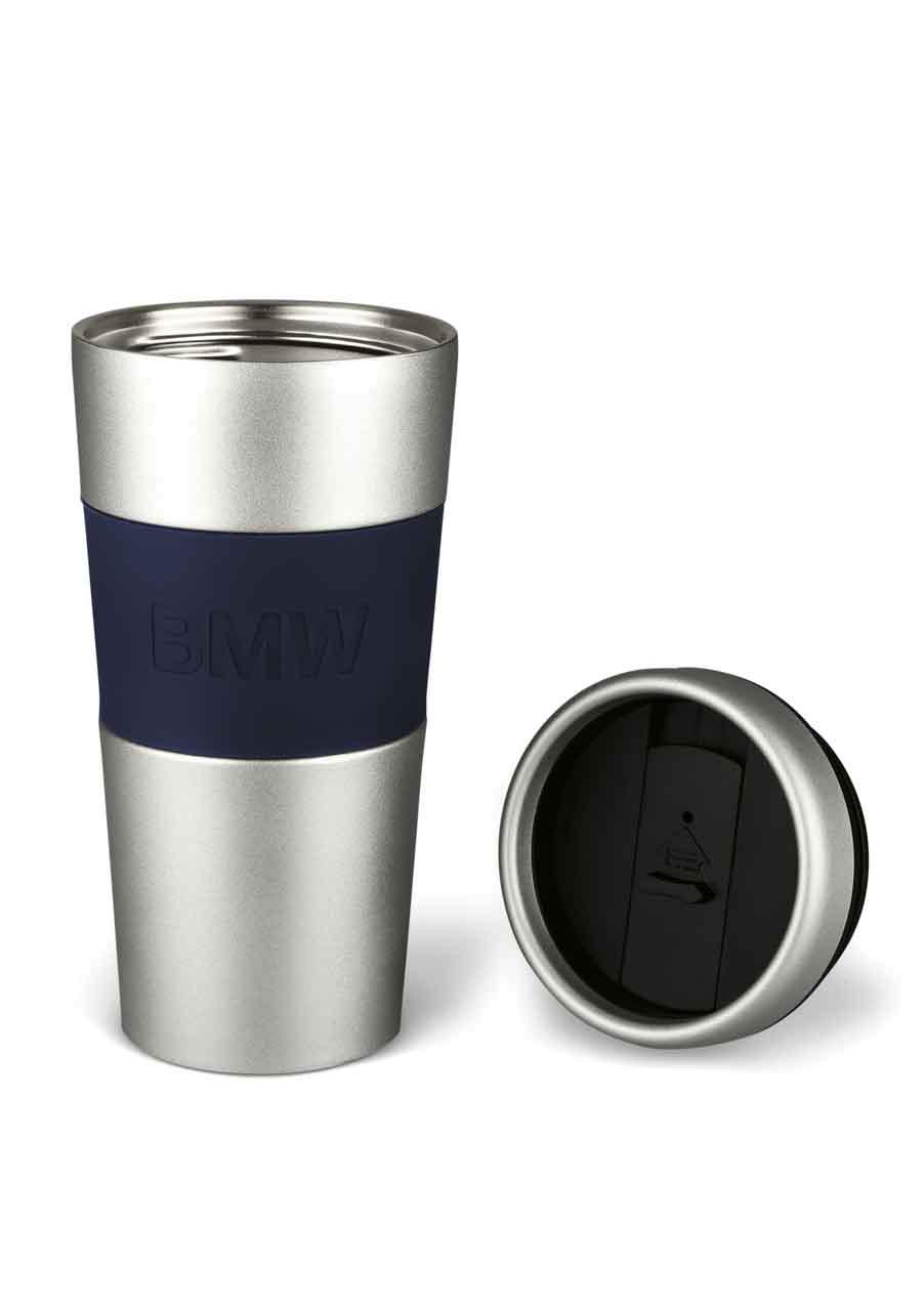 bmw thermobecher logo becher tassen accessoires. Black Bedroom Furniture Sets. Home Design Ideas
