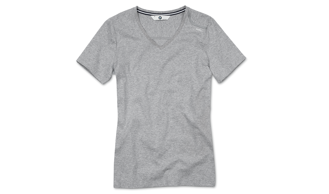 BMW Damen T-Shirt (V-Neck)