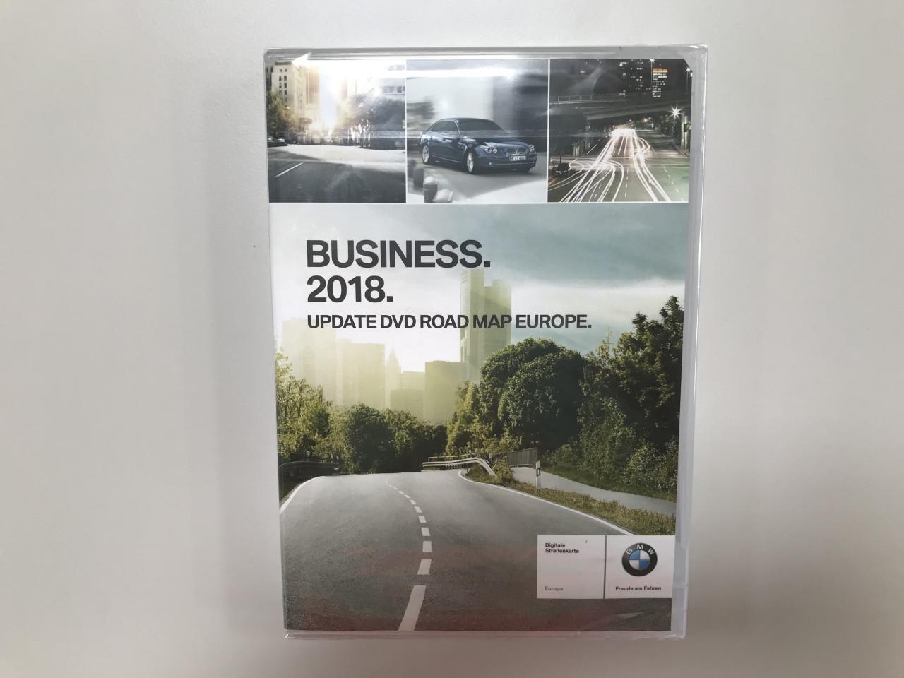 BMW Business 2018 Update Navigation DVD Road Map Europe 1er 3er 5er ...