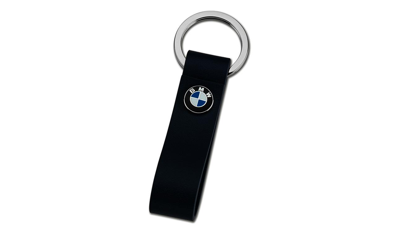 BMW Schlüsselanhänger Ledersch
