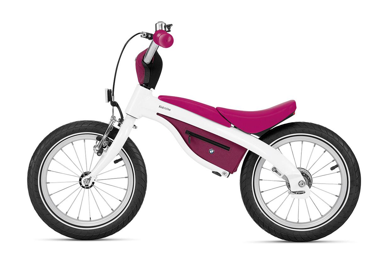 BMW Kids Bike, weiß himbeerrot