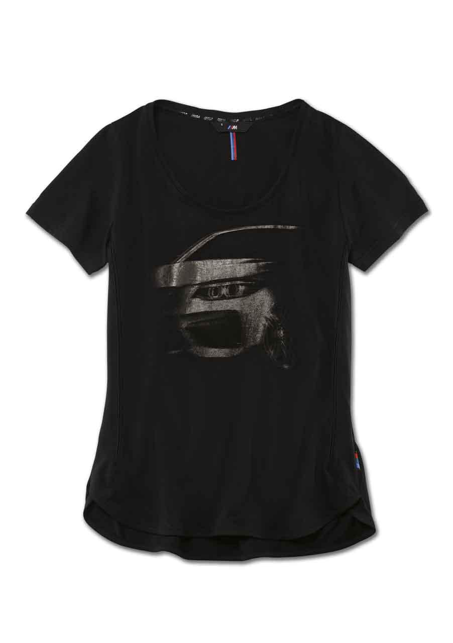 bmw m grafik t shirt damen t shirts damenbekleidung. Black Bedroom Furniture Sets. Home Design Ideas