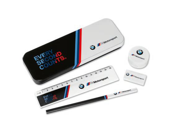 BMW M Motorsport Schreibset Kinder