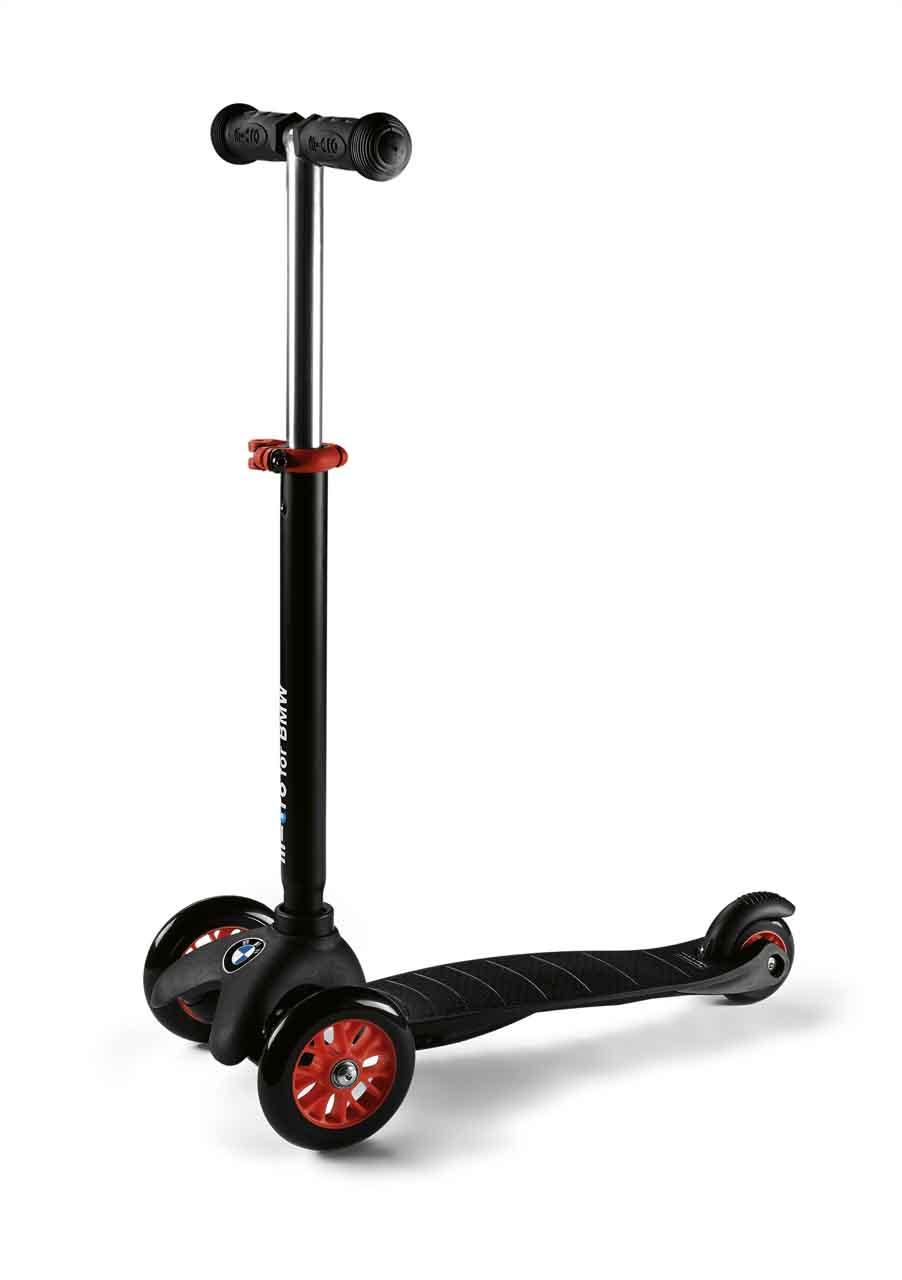 bmw kids scooter schwarz orange kinderfahrr der. Black Bedroom Furniture Sets. Home Design Ideas