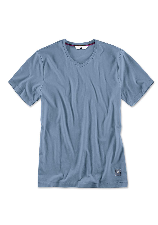 BMW T-Shirt V-Ausschnitt, Herren