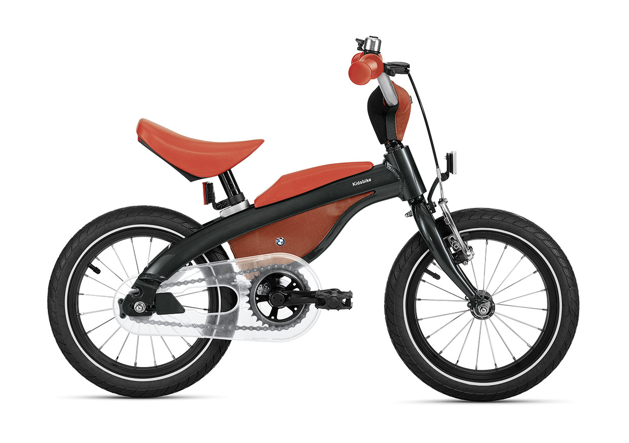 BMW Kids Bike, schwarz orange