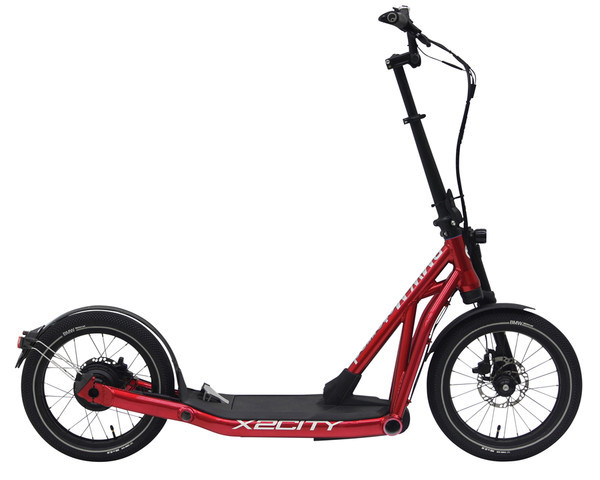 BMW E-Scooter X2City Red Glossy