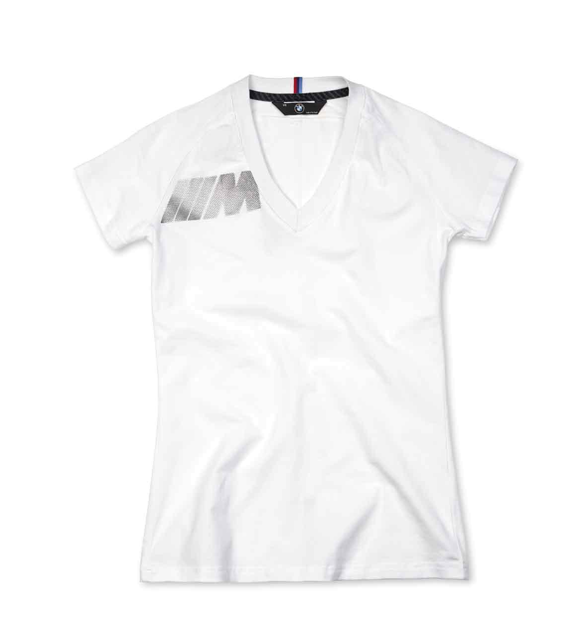 BMW M Damen T-Shirt, weiß