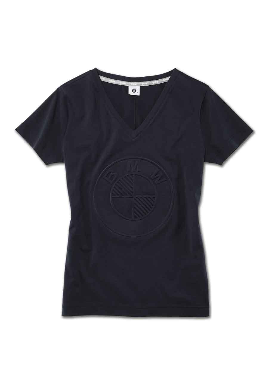 bmw t shirt damen logo t shirts damenbekleidung bmw. Black Bedroom Furniture Sets. Home Design Ideas