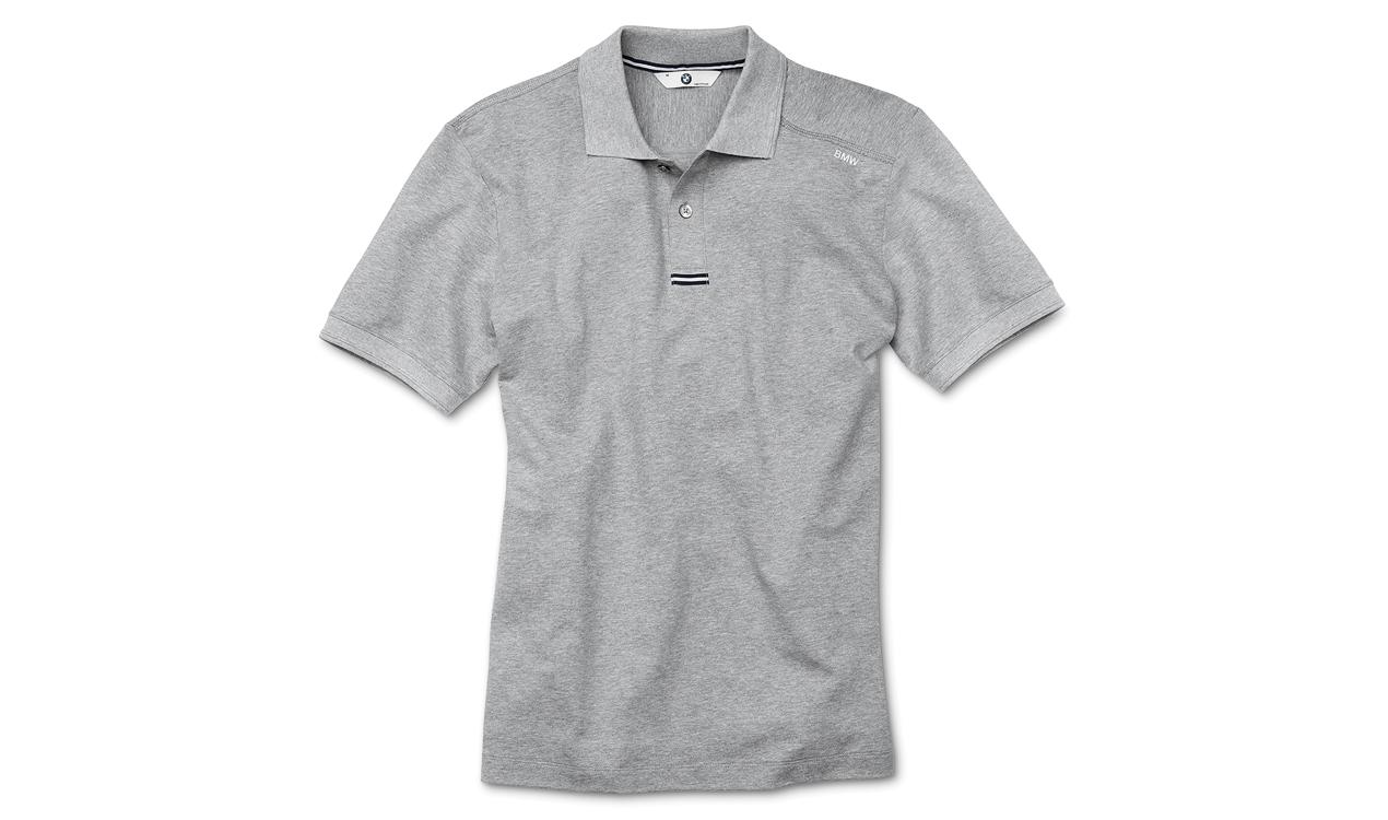 BMW Poloshirt Herren grau