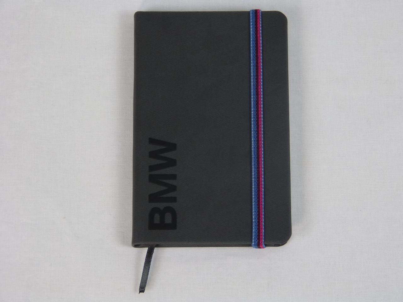 BMW Notizbuch Wortmarke