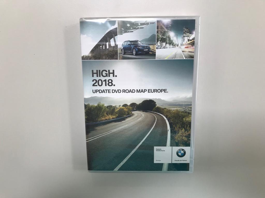 BMW High 2018 Update DVD Navigation Road Map Europe 3er 7er X3 X5 Z4 ...