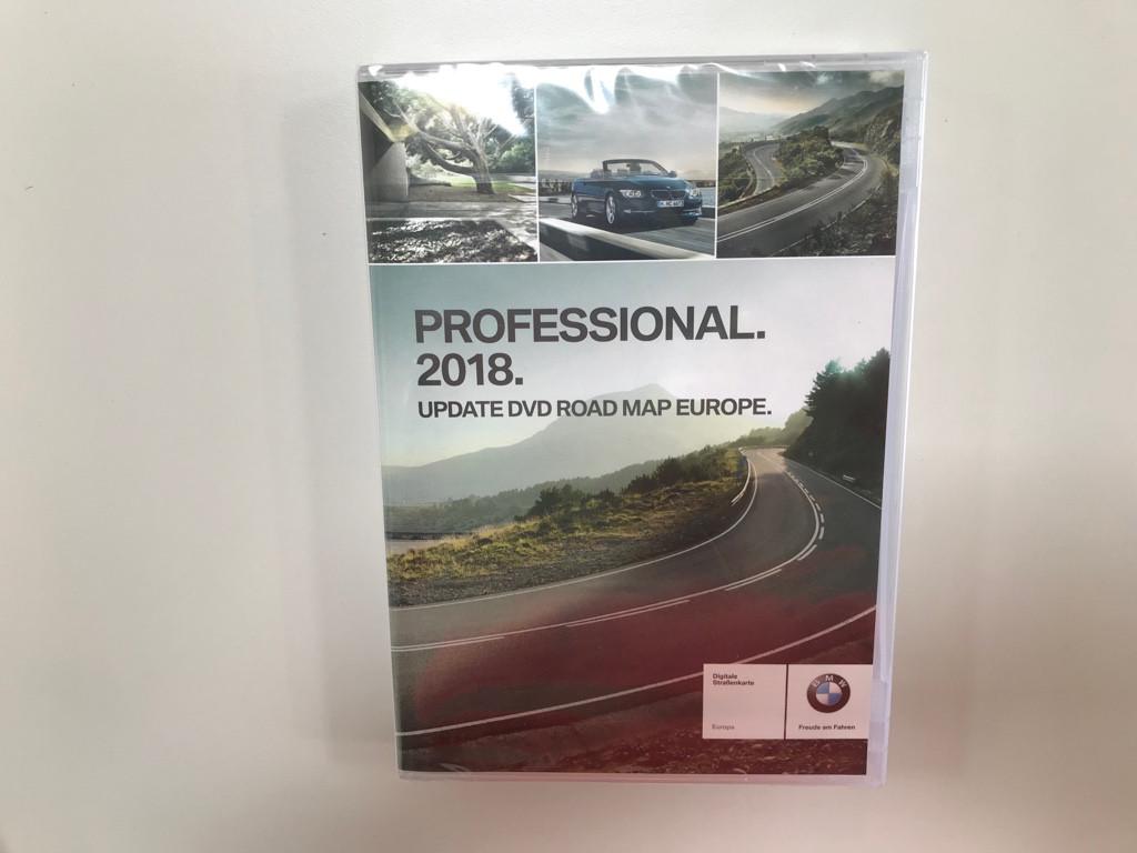 BMW Professional 2018 Update DVD Navigation Road Map Europe 1er 3er ...