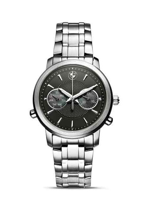 BMW Damen Armbanduhr schwarzes Ziffernblatt