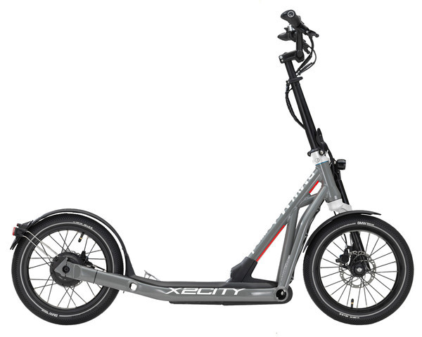 BMW E-Scooter X2City Moonwalk Grey Glossy