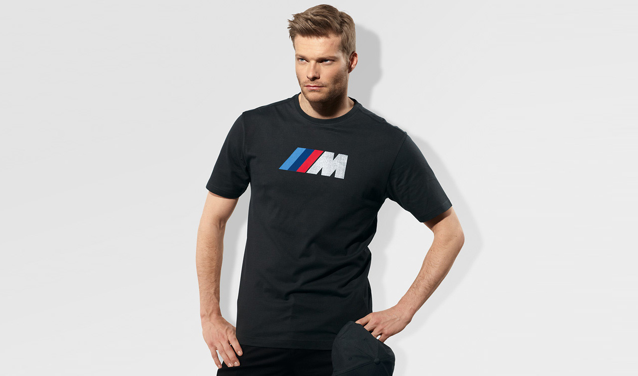 BMW M Herren Fan T-Shirt, anthrazit