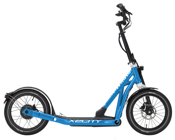 BMW E-Scooter X2City Blue Metallic Glossy