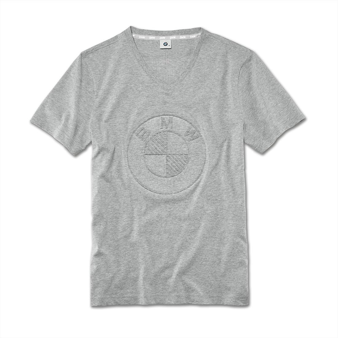 BMW T-Shirt Herren Logo grey, XL