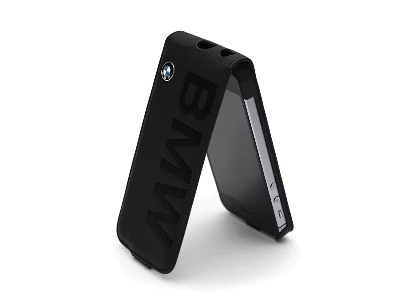 BMW Handy-Klapphülle Samsung Galaxy S4, schwarz