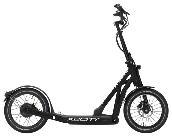 BMW E-Scooter X2City Black Matt