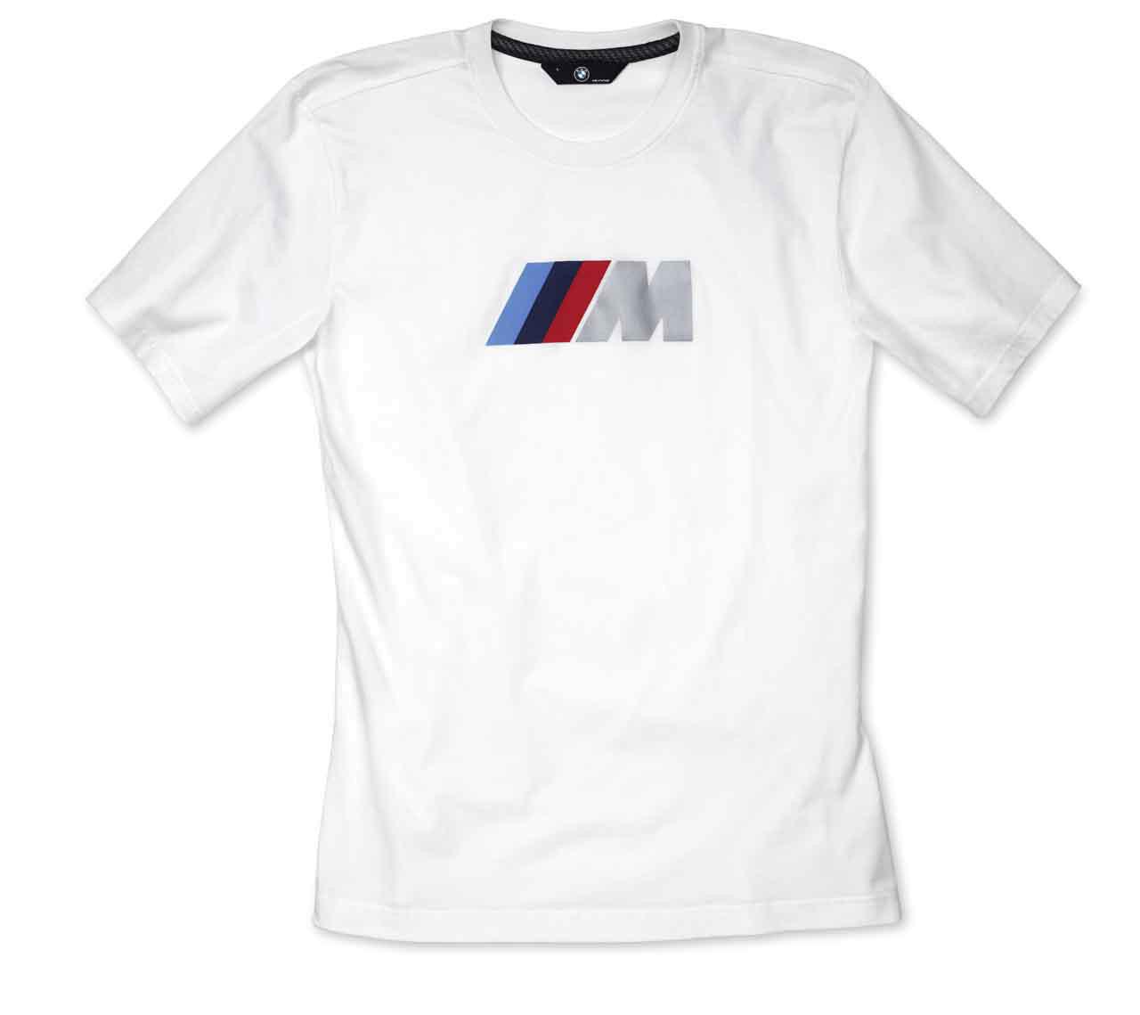 BMW M Herren Fan T-Shirt, weiß