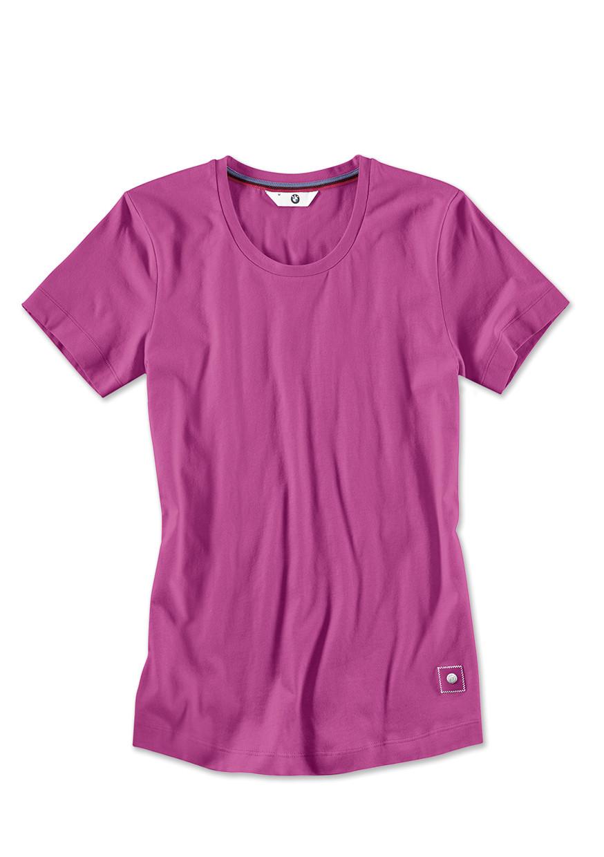 bmw t shirt damen zyclam red bmw boomers online shop. Black Bedroom Furniture Sets. Home Design Ideas