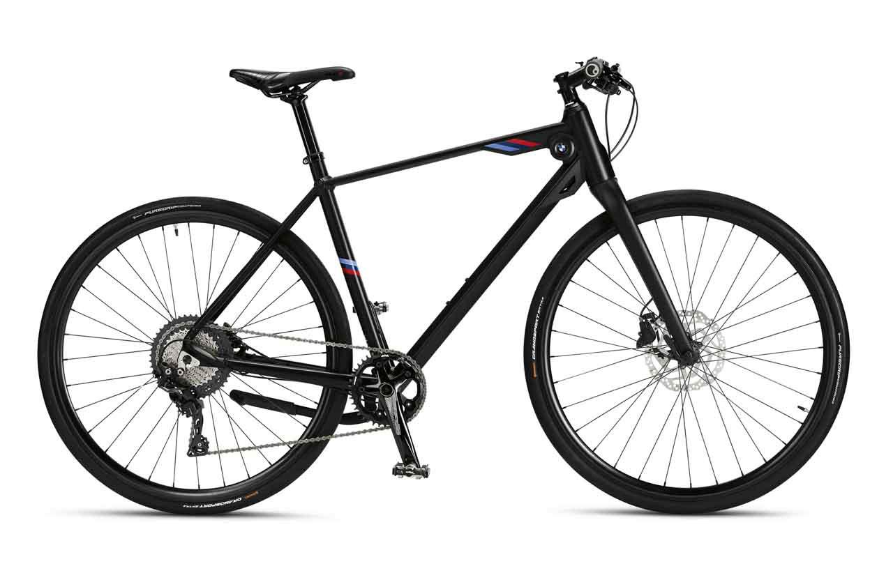 BMW M Bike matt schwarz
